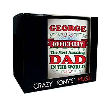 Amazing Dad Gift Mug Personalised Best Gifts Dads Birthday Present Ideas