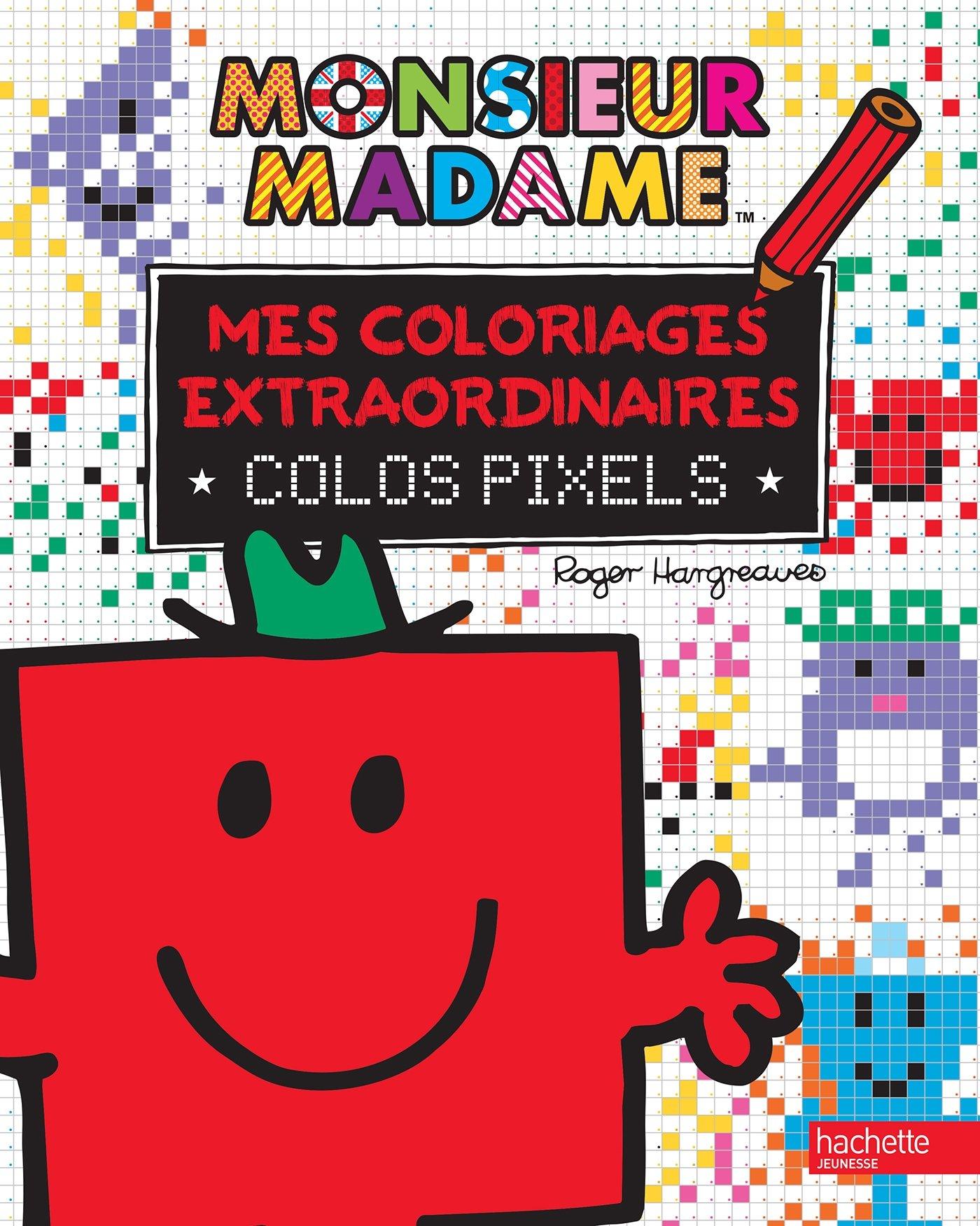 Mes Coloriages Extraordinaires Colos Pixels 9782013987332