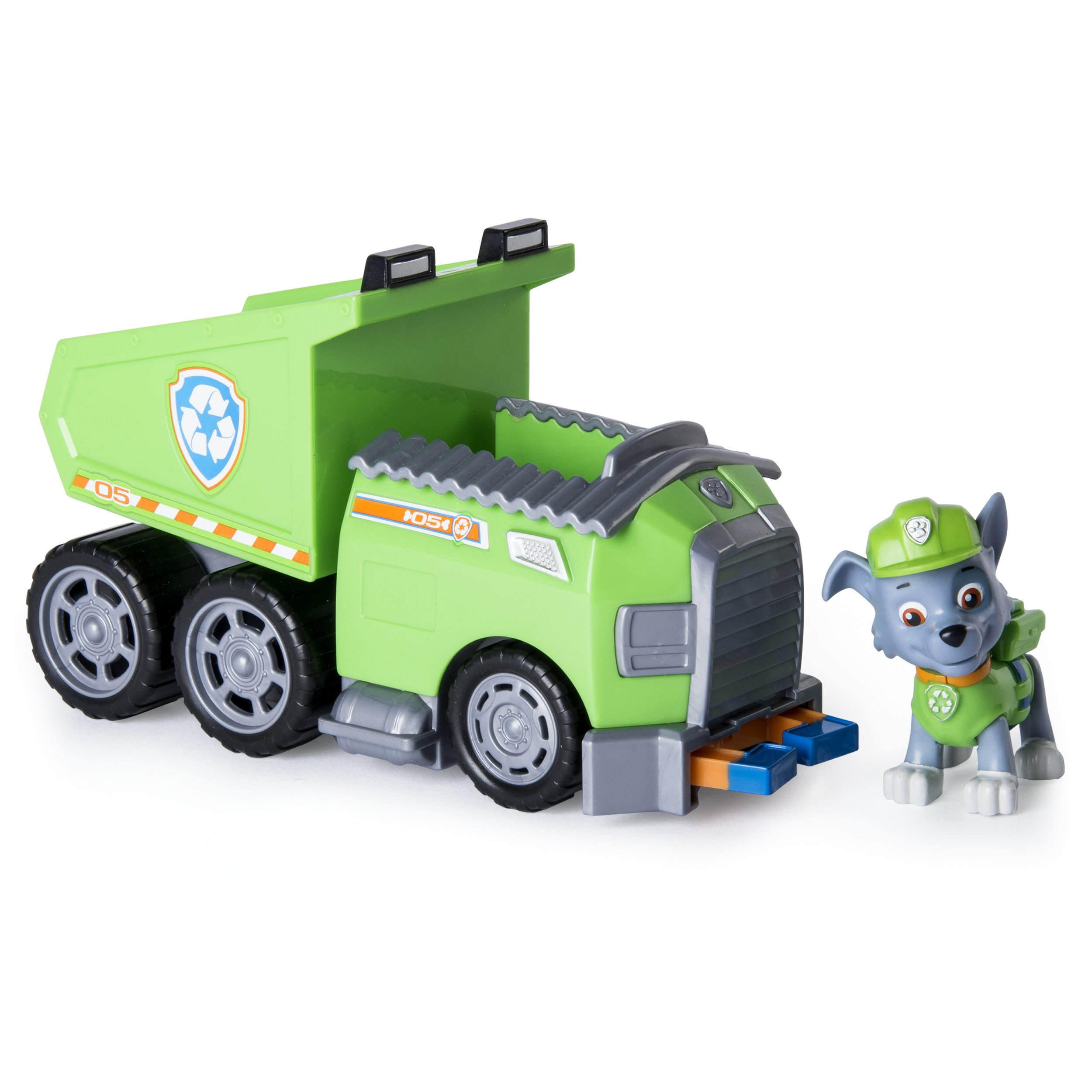 Toys For Trucks Green Bay : Paw patrol rocky s recycle dump truck vehicle with