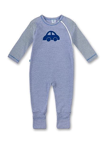 Sanetta 221301, Pelele para Dormir Unisex bebé, Azul (Atlas), 92 cm: Amazon.es: Ropa y accesorios