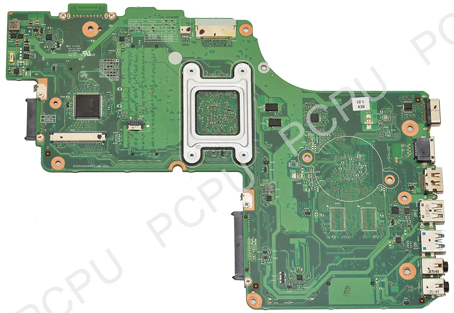 V000325090 Toshiba Satellite C55D Laptop Motherboard w// AMD A4-5000 1.5GHz CPU