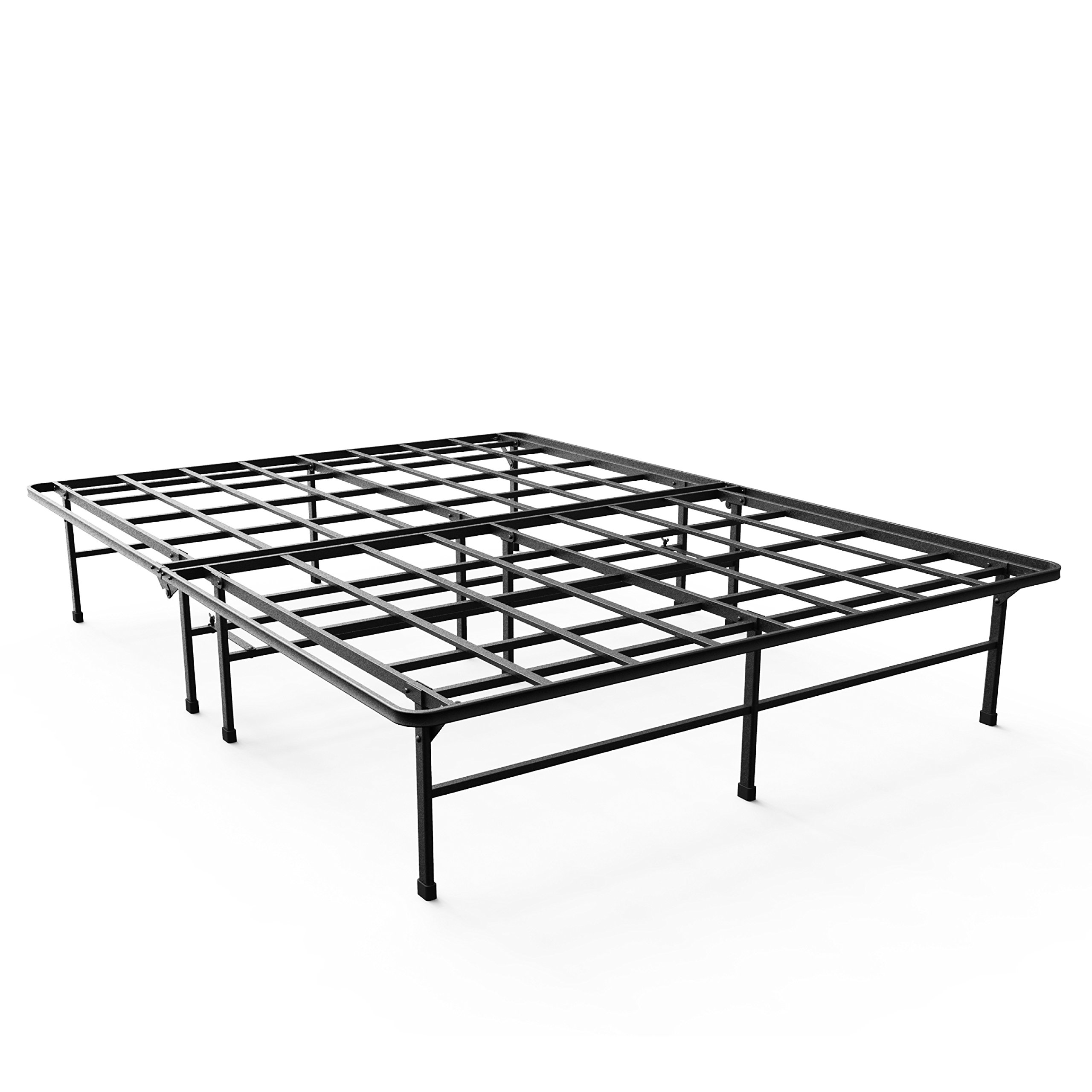 Zinus 14 Inch Elite SmartBase Mattress Foundation For Big Tall Extra Strong Support Platform Bed Frame Box Spring Replacement Sturdy