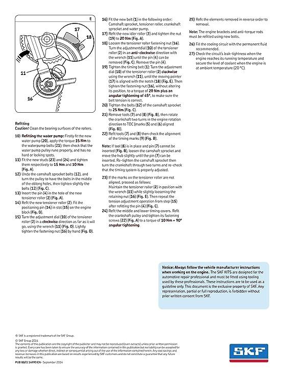 SKF VKMC 01250-1 Kit de distribución con bomba de agua: Amazon.es: Coche y moto
