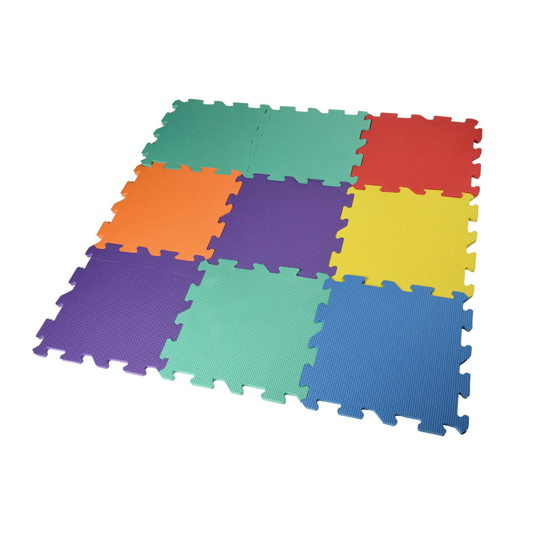 soft itm play details mats mat kids office eva exercise gym floor foam garage interlocking about