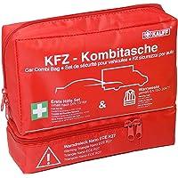 Kalff 7425 Kfz-Kombitasche Trio Inkl. Warndreieck und Warnweste