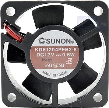 Sunon KDE1204PFB2-8 - Ventilador de 40 mm, 40 x 40 x 10 mm ...
