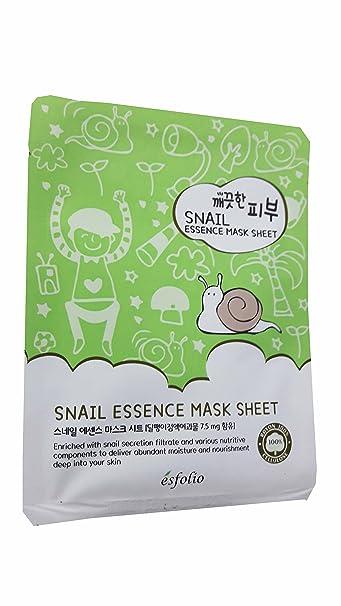 Esfolio Pure Skin Snail Essence Sheet Mask Set (10-Pack) Obagi Nu-Derm Exfoderm, 2 Oz
