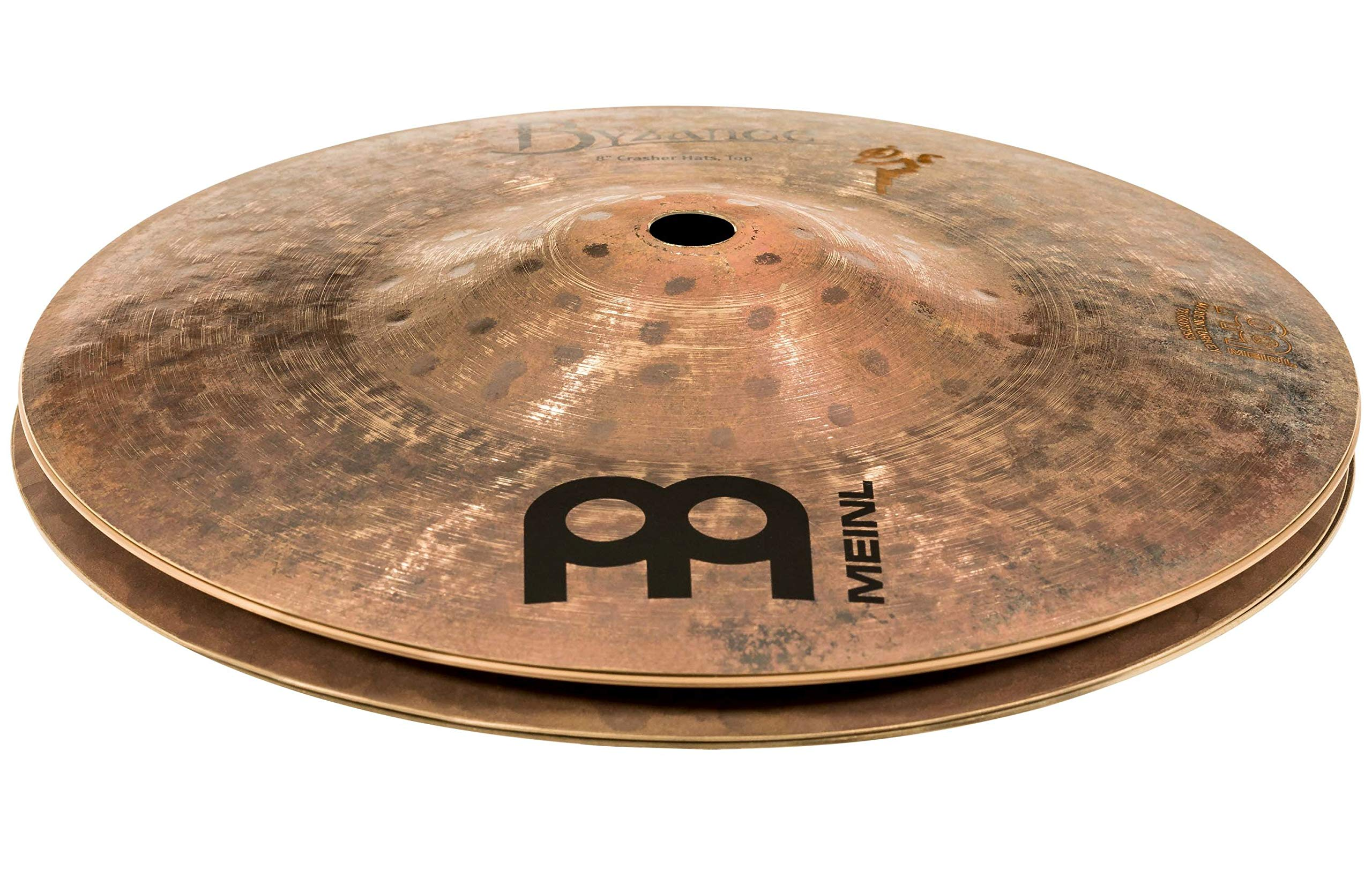 Meinl Cymbals Artist Concept Model - Benny Greb Crasher Hi-Hat Cymbal - 8 Inch by Meinl Cymbals