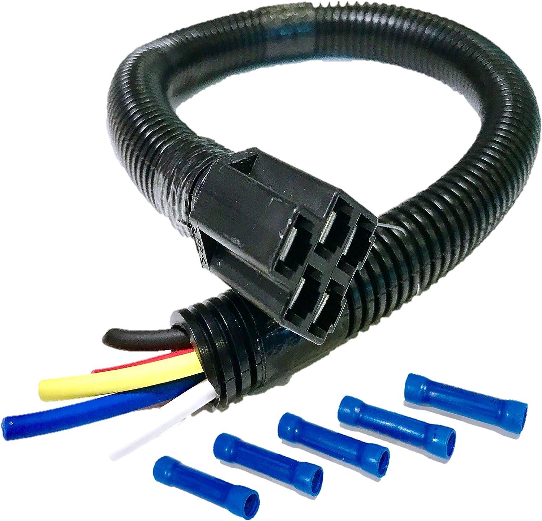 Amazon.com : HD Switch Ignition Key Switch Wiring Harness 18