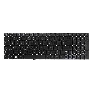 Green cell® Teclado para PC portátil/ordenador portátil SAMSUNG np-rc530-s01it (Dispositions: QWERTY US English   color: negro): Amazon.es: Informática