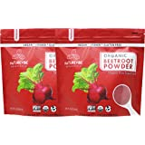 Organic Beet Root Powder (2 lbs), Raw & Non-GMO (2 Pack of 1 Pound Each) | Nitric Oxide Booster | Boost Stamina and…