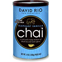 David Rio - Elephant Vanilla Chai, kartonnen doos (1 x 398 g)