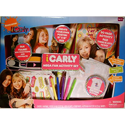 Tara Toys iCarly Mega Fan Activity Set: Toys & Games