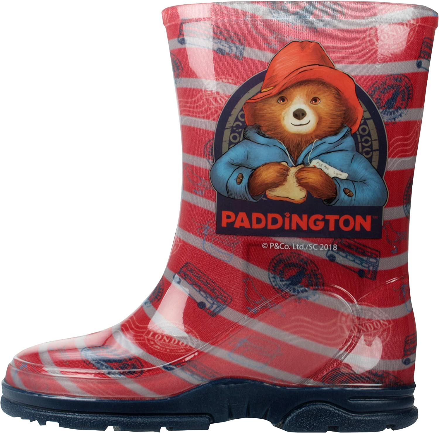 Licensed PJ Masks Boys Wellies Wellington Boots Red UK Child Sizes 5-12