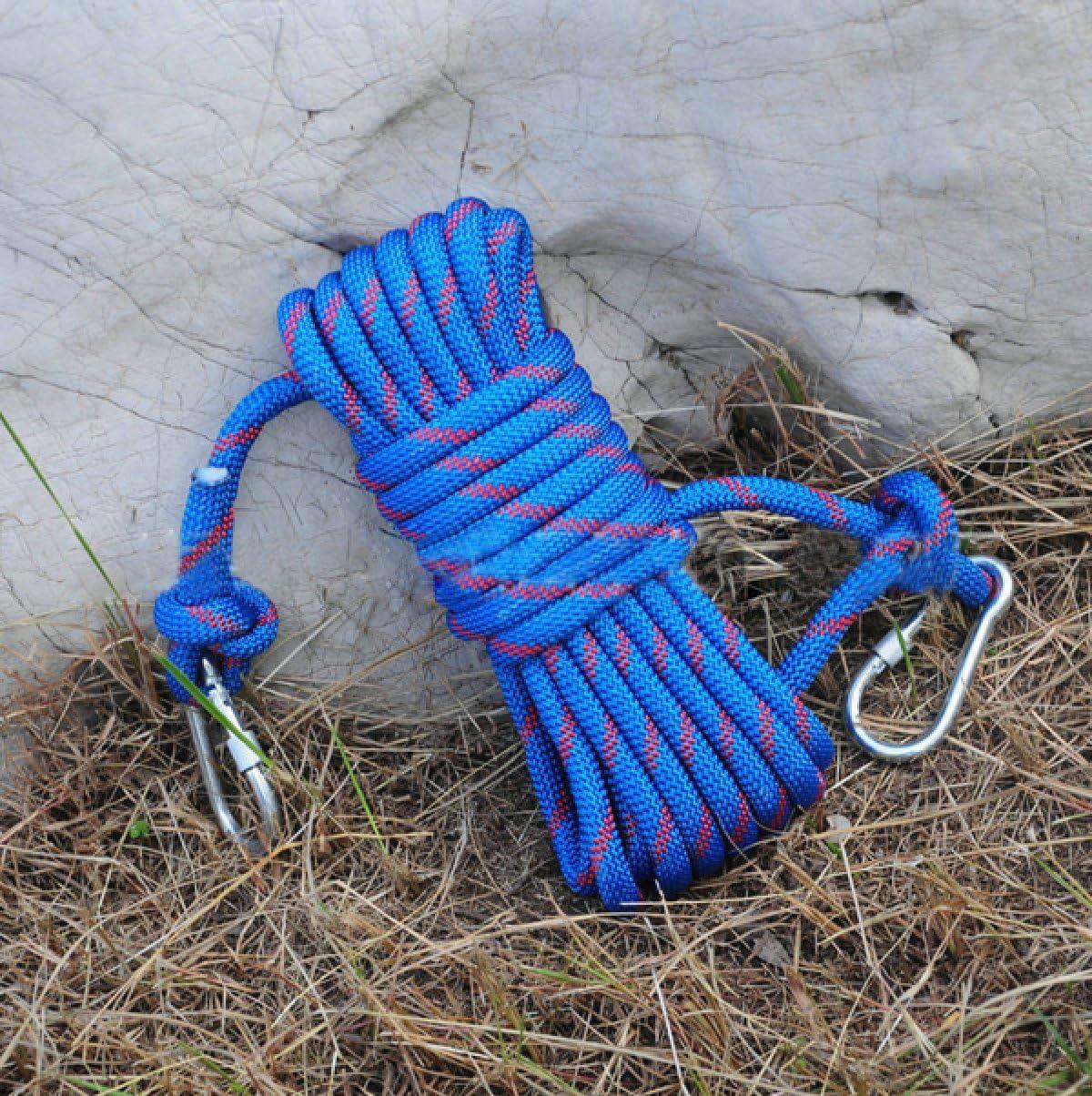 Al Aire Libre Escalada Diámetro 12mm Cuerda De Seguridad 10m ...