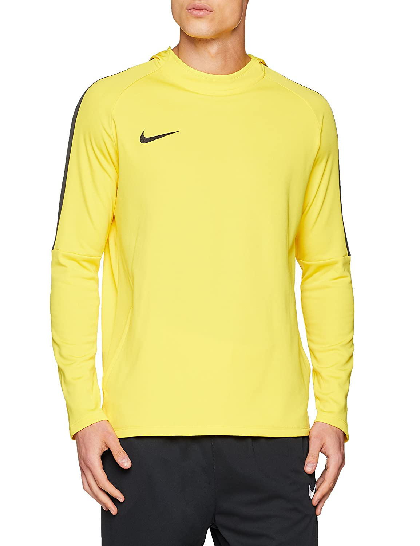 Nike Men's Dry Academy Football Hoodie Sweatshirt, Hombre, Black Anthracite/(White), S