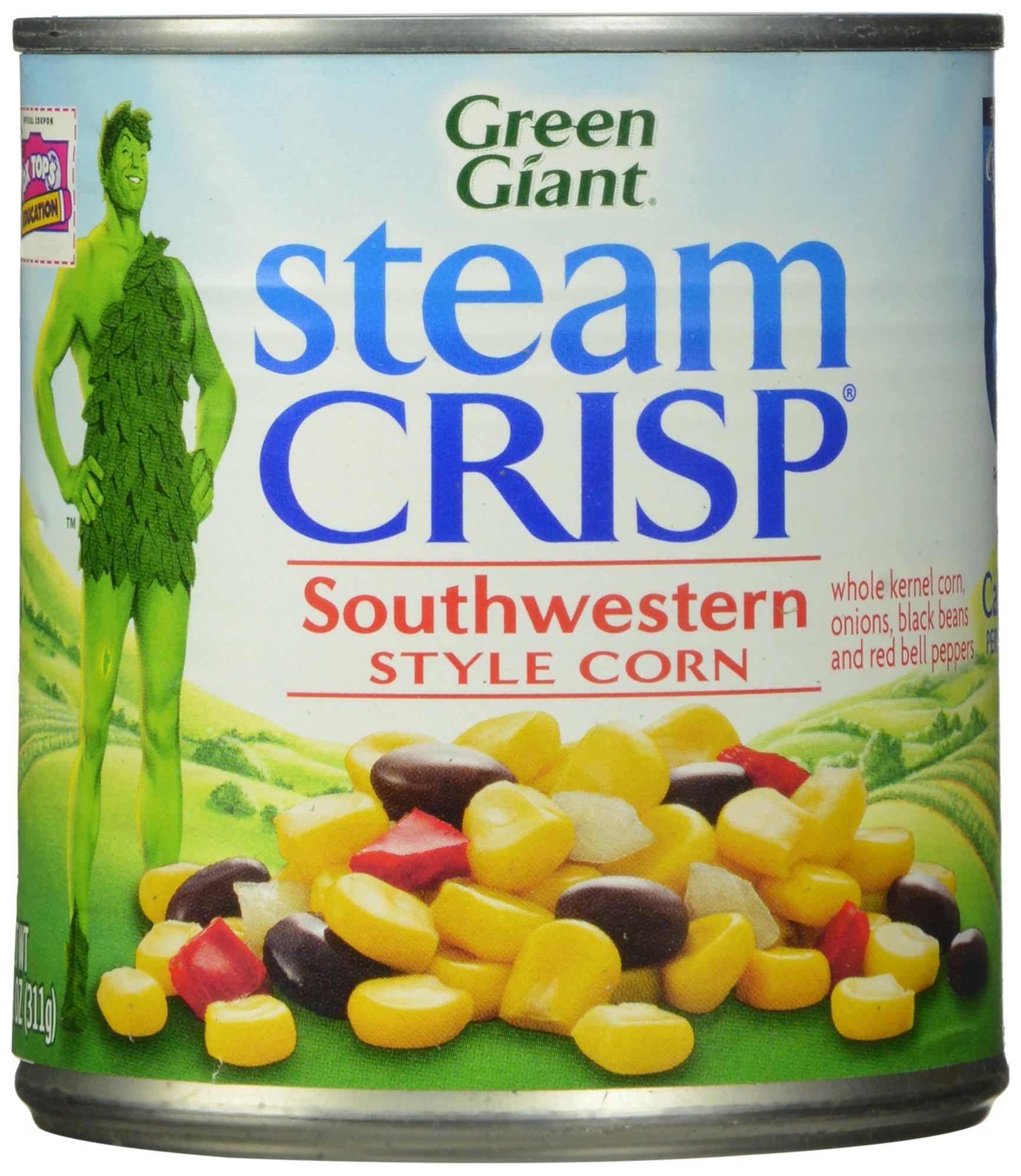 Green Giant Southwestern Style Corn, 11 oz, 12 Pack