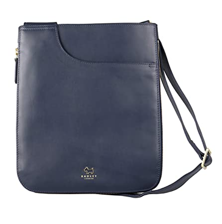 3ddd2ec0d363 Radley Pockets Medium Zip Top Cross Body Bag - MEDIUM, INK: Amazon.co.uk:  Luggage