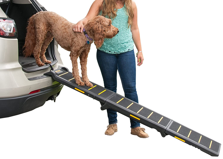 Pet Gear Reflektierende Rampe, dreifach zusammenklappbar
