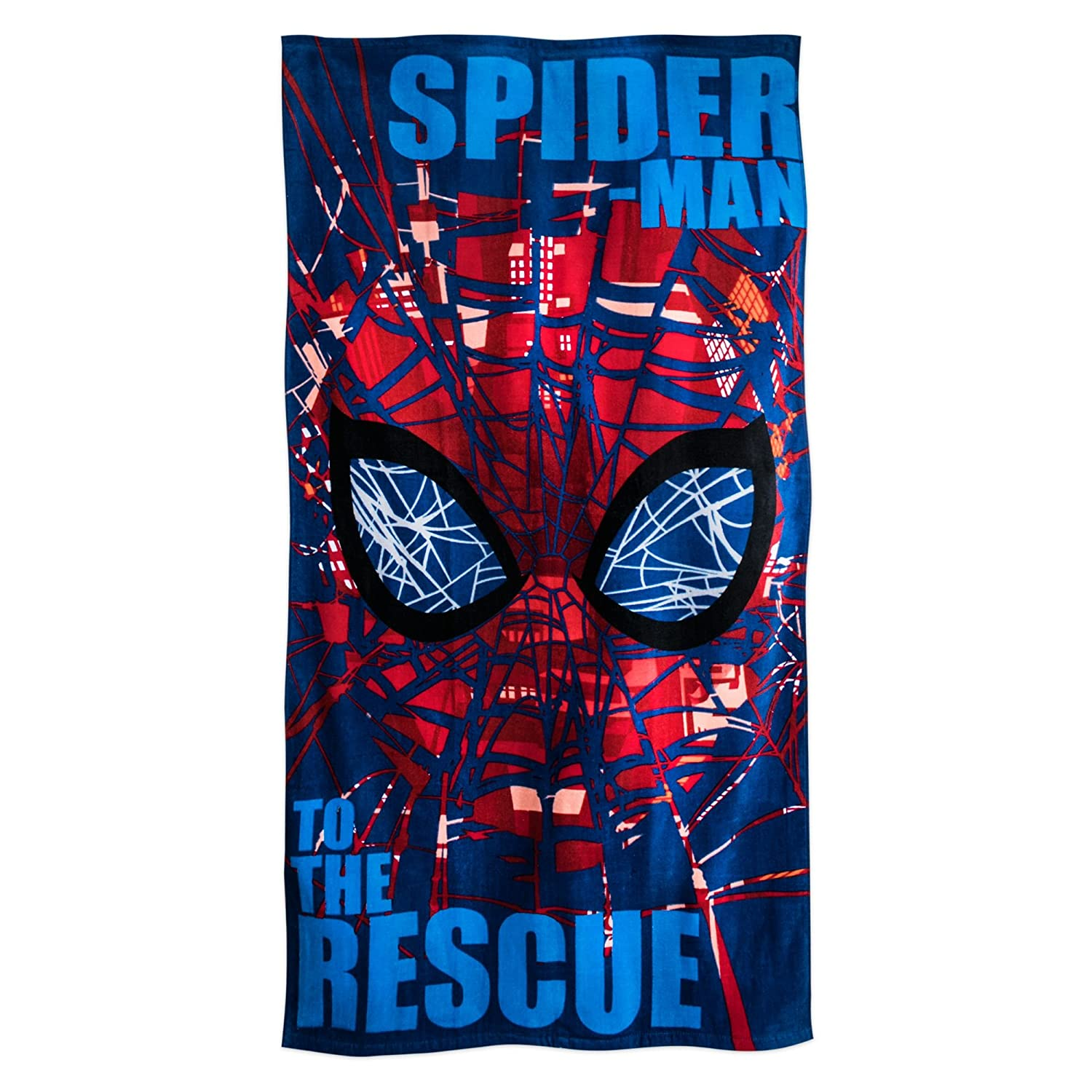 Marvel Spider-Man Beach Towel for Kids Red