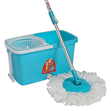 gala popular spin mop with easy wheels and bucket for magic 360