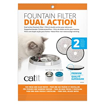 Amazoncom Catit Fresh Clear Dual Action Replacement Filters 2