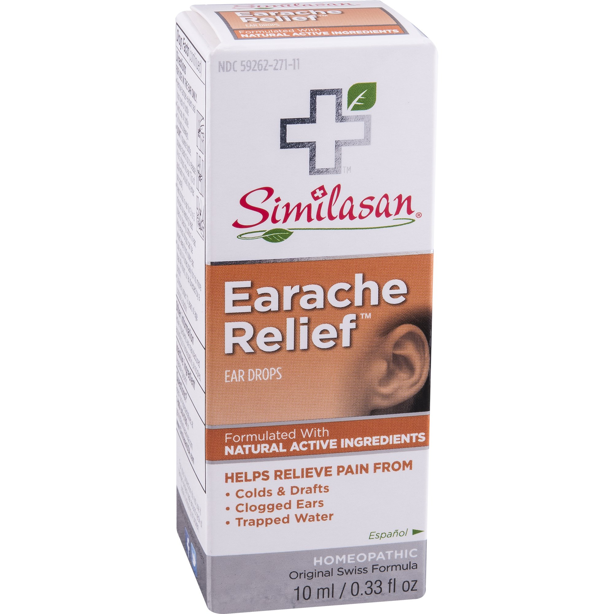 Similasan Earache Relief Ear Drops 10 mL ( 3 pack)