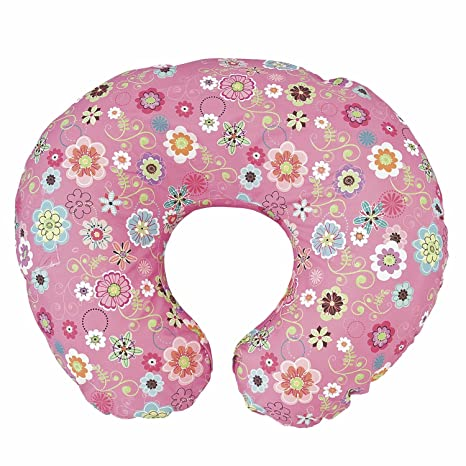 Chicco Almohada Boppy con forro algodón color Wild Flowers ...