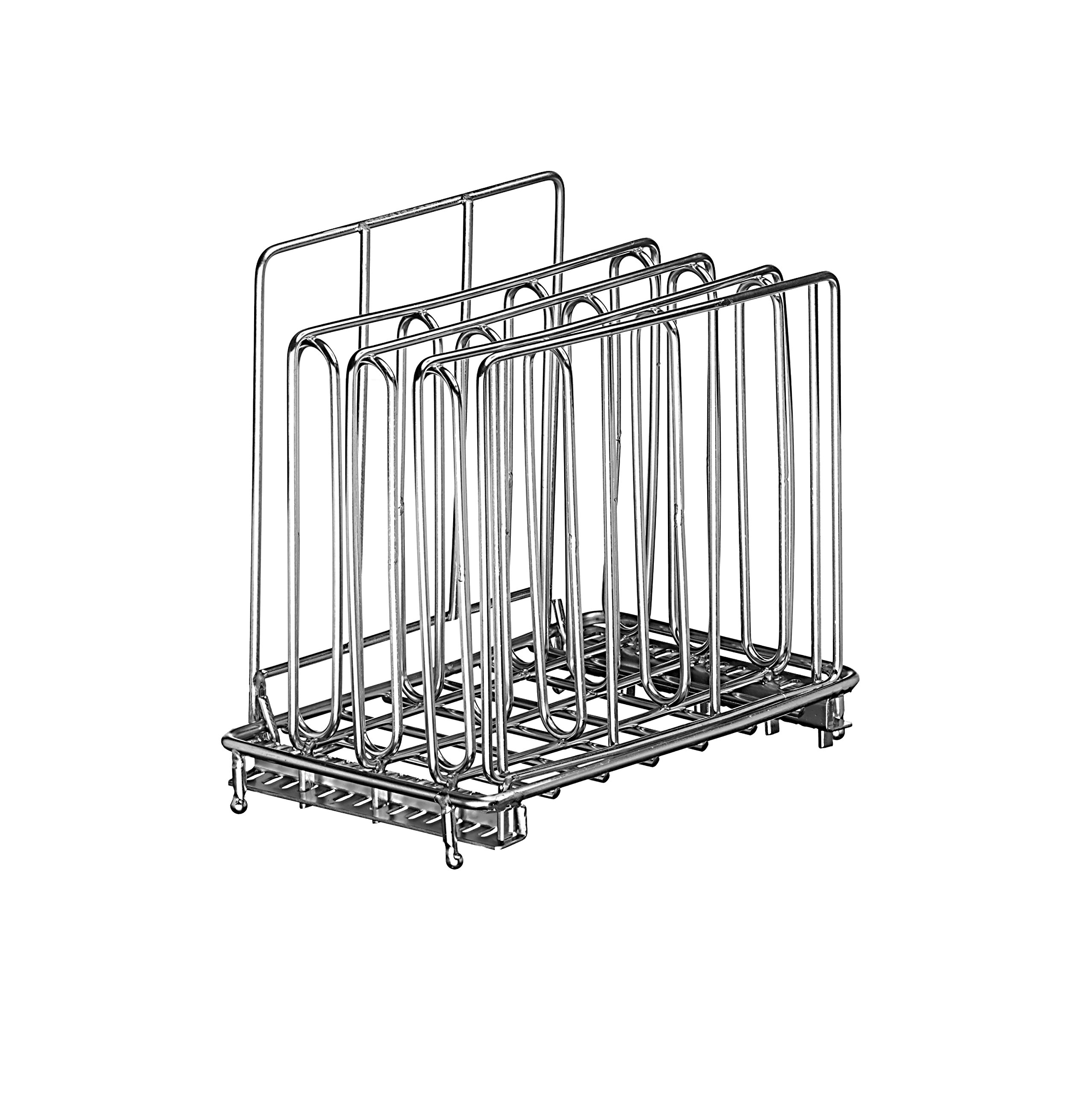 LIPAVI Sous Vide Rack - Model L5 - Marine Quality 316L Stainless Steel - Square 4 x 6.4 Inch - Adjustable, Collapsible, Ensures even and Quick warming - Fits LIPAVI C5 Container by LIPAVI
