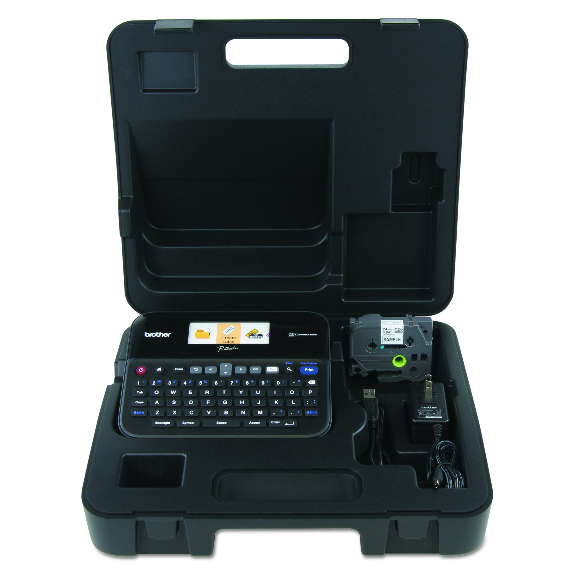 Brother P-touch PTD600VP PC Connectible Label Maker with Case by Brother