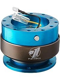 NRG Innovations SRK-200NB Quick Release (New Blue Body/Titanium Chrome Ring)
