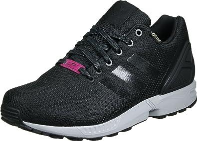 new arrival 8f56d 7bc7b adidas ZX Flux GTX Black Pink Grey 42