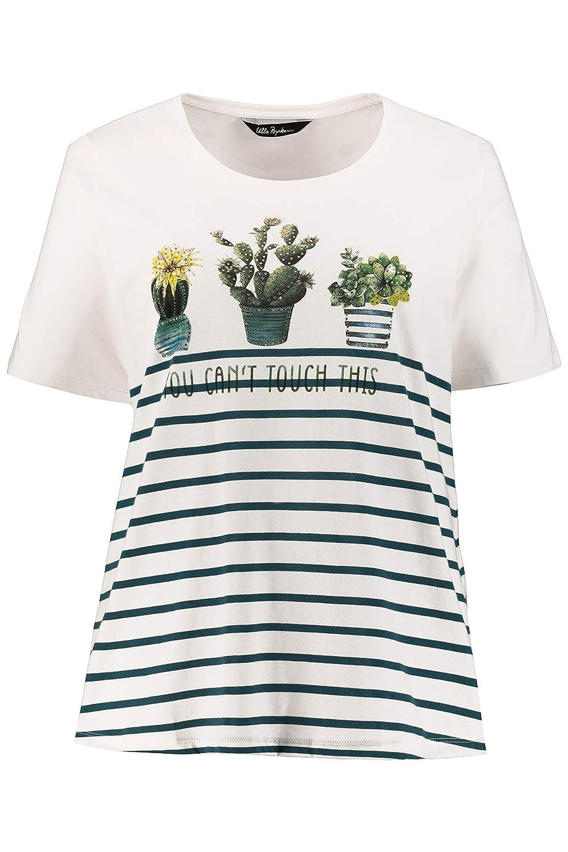 Ulla T Tailles Popken Grandes Femme ShirtClassicRayuresMotif WH2EDIe9Y