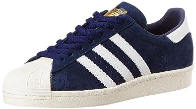 adidas Originals Men s Superstar 80S Dlx Suede Blue 2fff5e2f5c