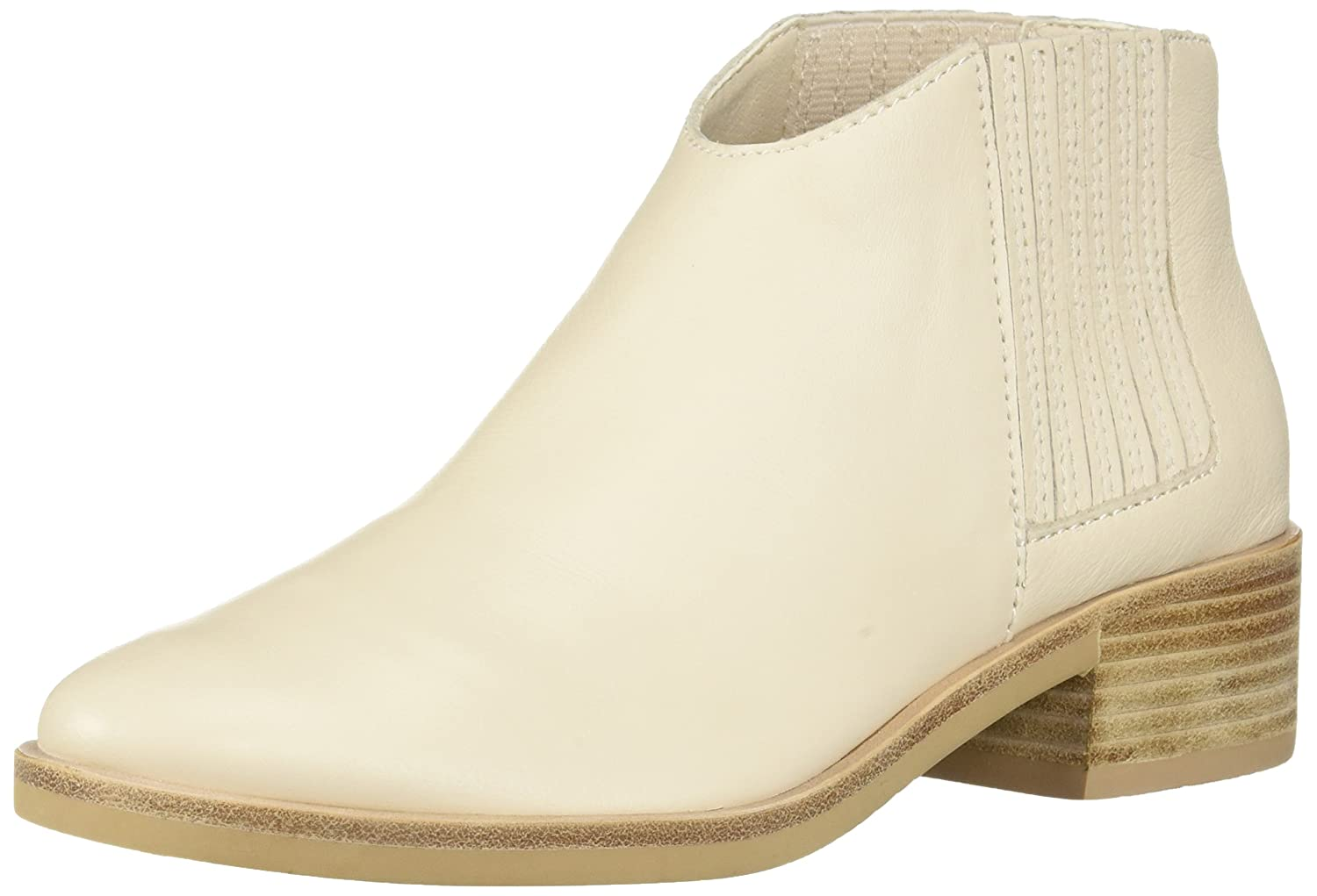 Dolce Vita Women's Towne Ankle Boot B07BRBST5G 9.5 B(M) US|Ivory Leather