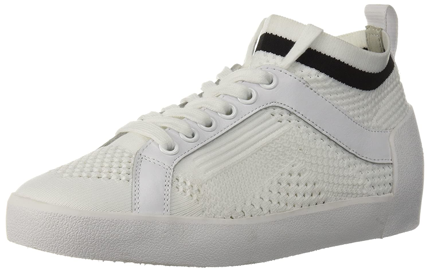 Ash Women's AS-Nolita Sneaker B0757CZ34R 38 M EU (8 US)|White/Black
