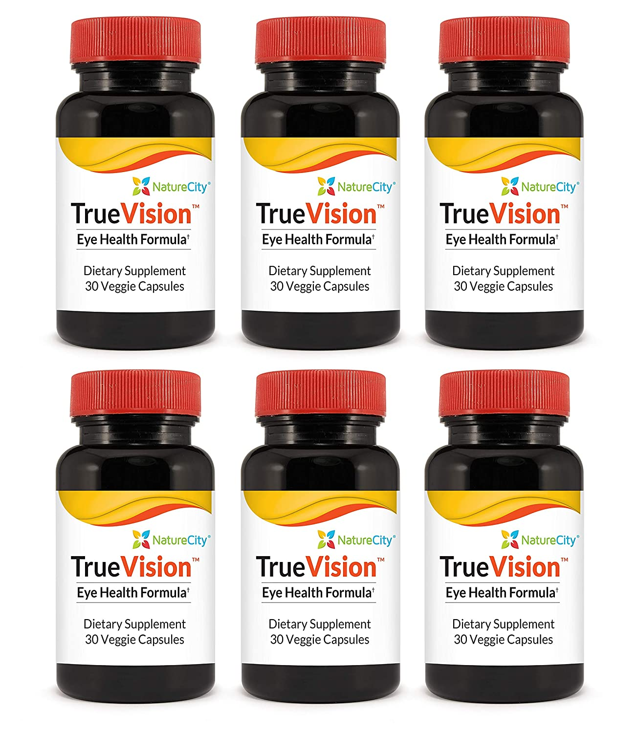 Truevision Vision Support Supplement Lutein Puritan 293 Saw Palmetto Standardized Extract 320 Mg 60 Softgels Zeaxanthin Saffron 30 Veggie Capsules Single Bottle Health Personal Care