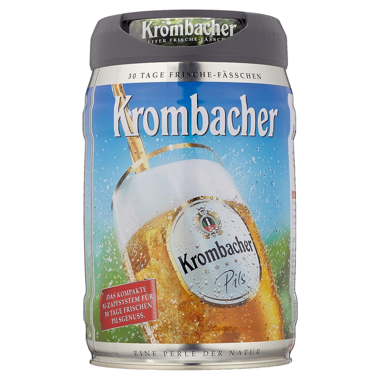 Krombacher Frische Fässchen, (1 x 5 l): Amazon.de: Bier, Wein ...