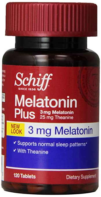 Image Unavailable. Image not available for. Color: Schiff Melatonin Plus ...