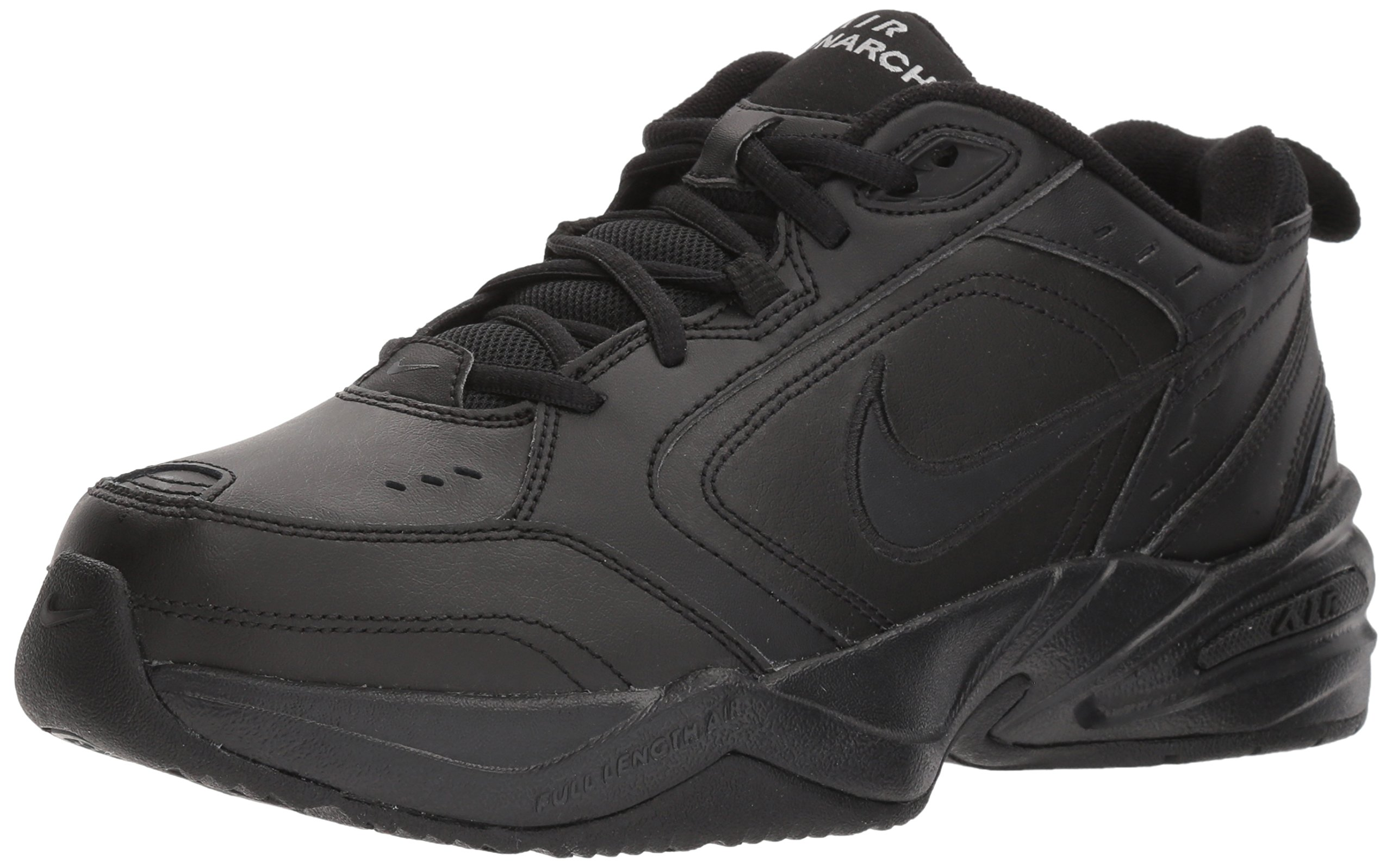 NIKE AIR MONARCH IV (MENS) - 6 Black/Black
