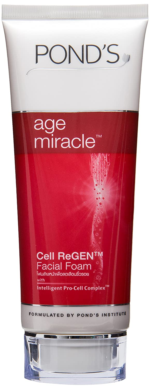 Pond's Age Miracle Daily Regenerating Facial Foam 100g
