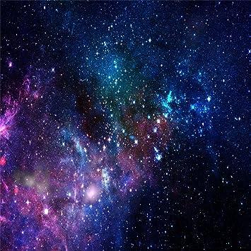 Amazoncom Aofoto 8x8ft Nebula Backdrop Aerospace Starry Sky