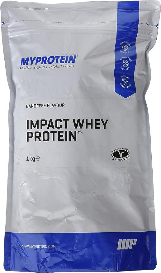 MyProtein Impact Whey Proteína de Suero, Sabor Banoffee - 1000 gr
