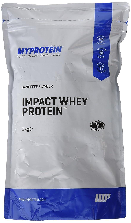 MyProtein Impact Whey Proteína de Suero, Sabor Banoffee - 1000 gr: Amazon.es: Salud y cuidado personal