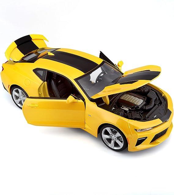 Gelb H-Customs Camaro ZL1 Modellauto Auto Lizenzprodukt 1:34-1:39