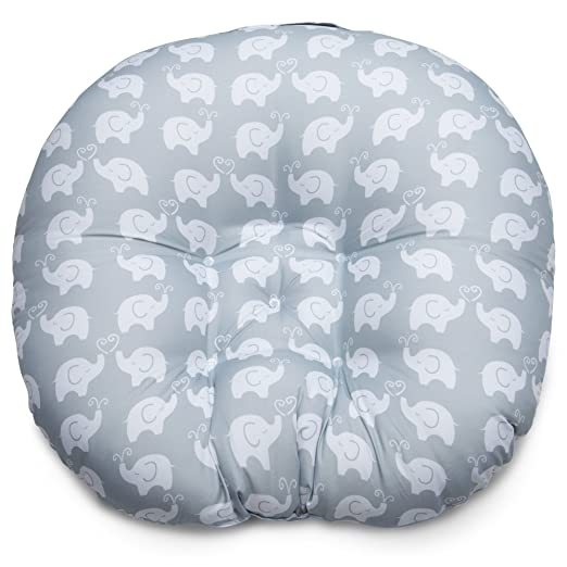 Boppy Newborn Lounger, Elephant Love Gray by Boppy by Boppy: Amazon.es: Bebé