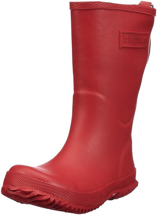 Bisgaard Unisex-Kinder Rubber Boot Basic Gummistiefel, Rot (10 Red), 39 EU