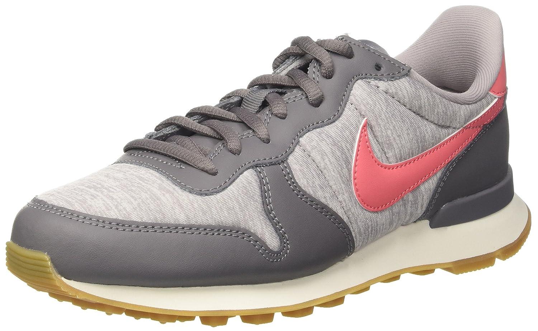 Nike 828407-004, Zapatillas de Deporte Mujer 37.5 EU Gris (Gunsmoke/Sea Coral-atmosphere Grey-sailor 020)