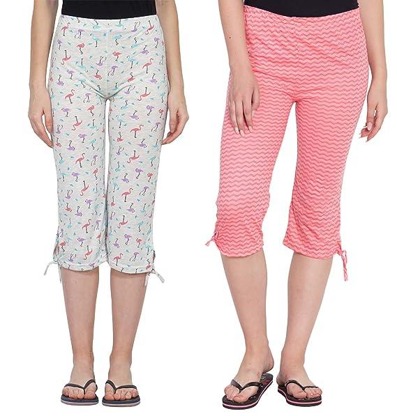 611fa2c1d602 Fflirtygo Women s Comfort Capri
