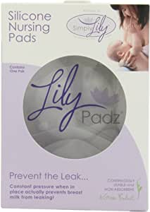 LilyPadz® Reusable Silicone Nursing Pads Single Pair Regular Size
